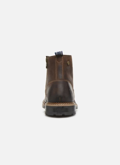Boots en enkellaarsjes Base London WRENCH Bruin rechts