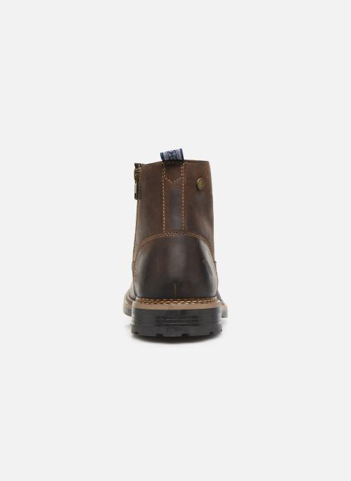 Bottines et boots Base London WRENCH Marron vue droite
