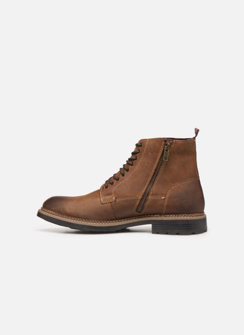 Boots en enkellaarsjes Base London WRENCH Bruin voorkant
