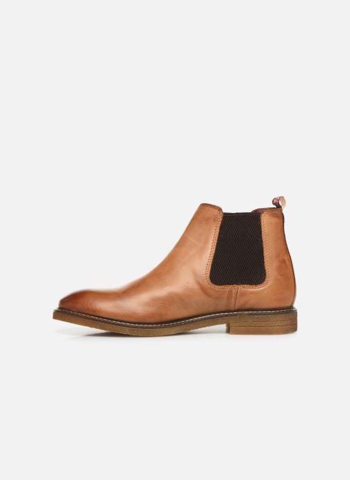 Bottines et boots Base London GORDON Marron vue face
