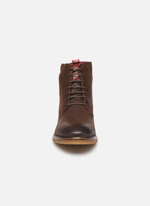 Boots en enkellaarsjes Base London JACKSON Bruin model