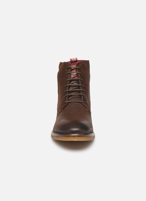 Ankle boots Base London JACKSON Brown model view