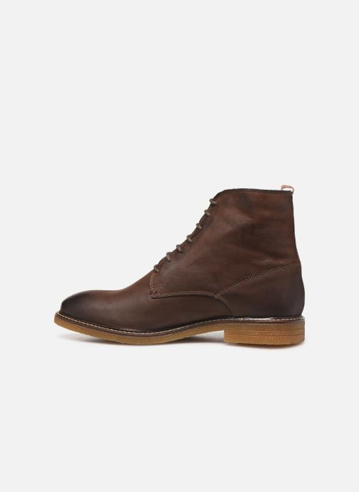 Ankle boots Base London JACKSON Brown front view