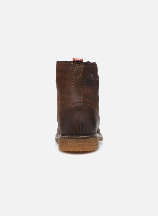Boots en enkellaarsjes Base London JACKSON Bruin rechts