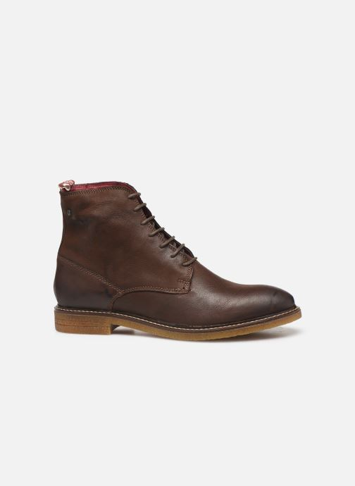 Boots en enkellaarsjes Base London JACKSON Bruin achterkant