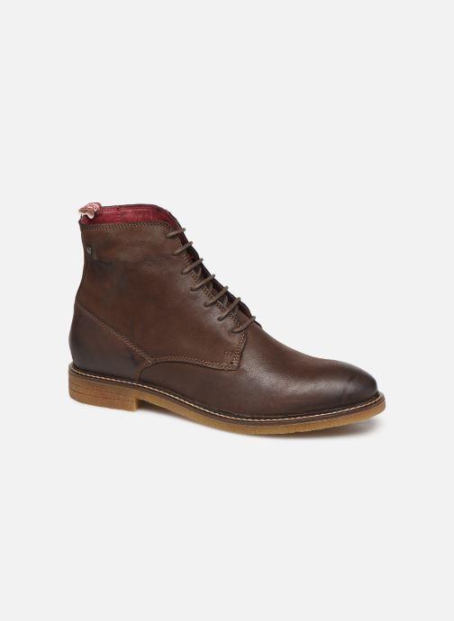 Boots en enkellaarsjes Base London JACKSON Bruin detail