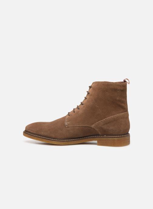 Bottines et boots Base London JACKSON Marron vue face