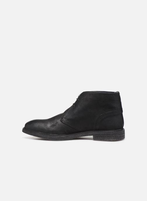 Bottines et boots Base London LAWSON Noir vue face