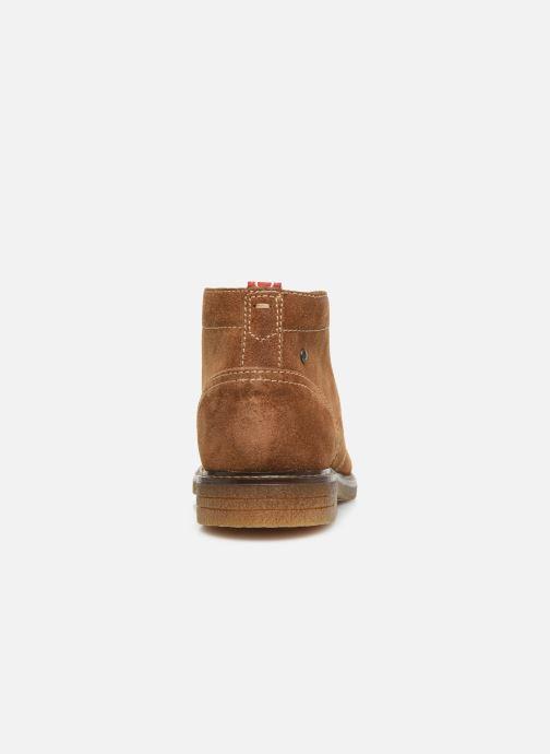 Bottines et boots Base London LAWSON Marron vue droite