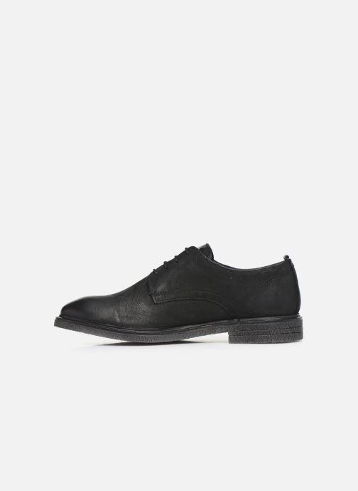 Chaussures à lacets Base London BONHAM Noir vue face