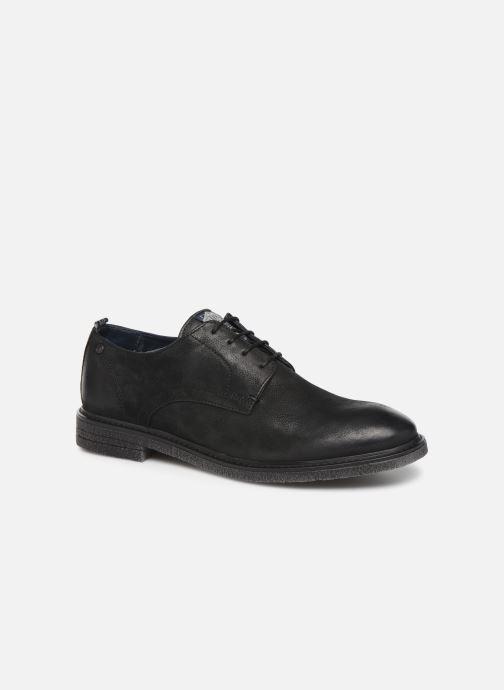 Chaussures à lacets Base London BONHAM Noir vue détail/paire