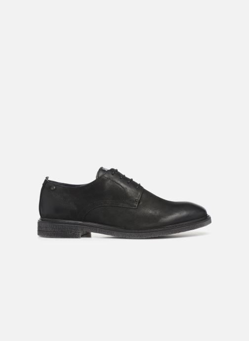 Zapatos con cordones Base London BONHAM Negro vistra trasera