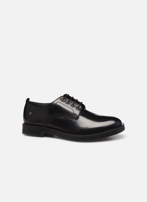 Chaussures à lacets Base London KEATS Noir vue derrière