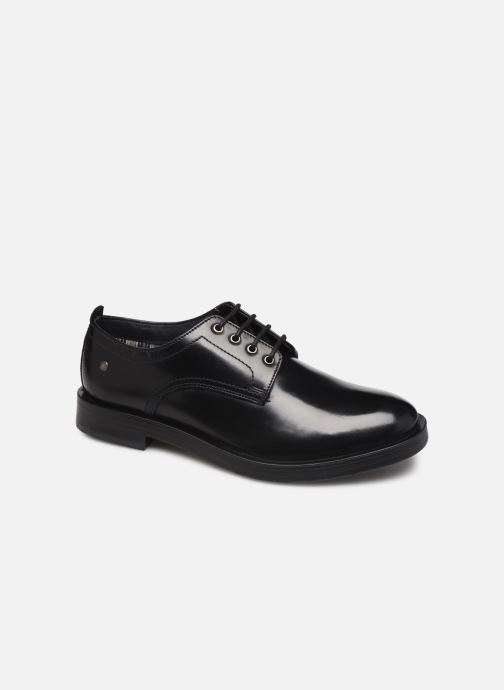 Lace-up shoes Base London KEATS Black detailed view/ Pair view