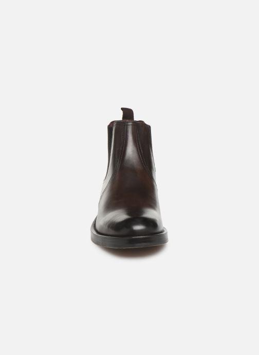 Bottines et boots Base London ROSSETTI Marron vue portées chaussures
