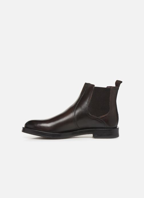 Ankle boots Base London ROSSETTI Brown front view