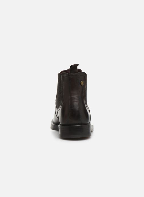 Ankle boots Base London ROSSETTI Brown view from the right