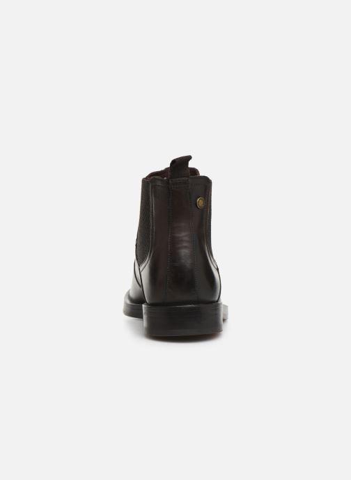 Bottines et boots Base London ROSSETTI Marron vue droite