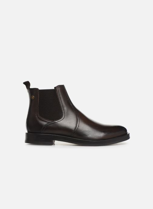 Ankle boots Base London ROSSETTI Brown back view