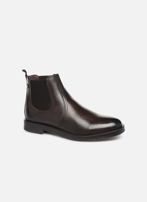 Ankle boots Base London ROSSETTI Brown detailed view/ Pair view