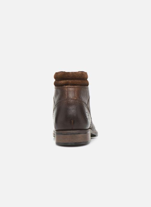 Boots en enkellaarsjes Base London TREK Bruin rechts
