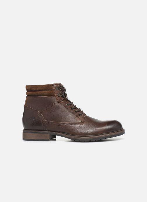 Boots en enkellaarsjes Base London TREK Bruin achterkant