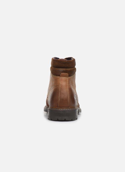 Bottines et boots Base London RETON Marron vue droite