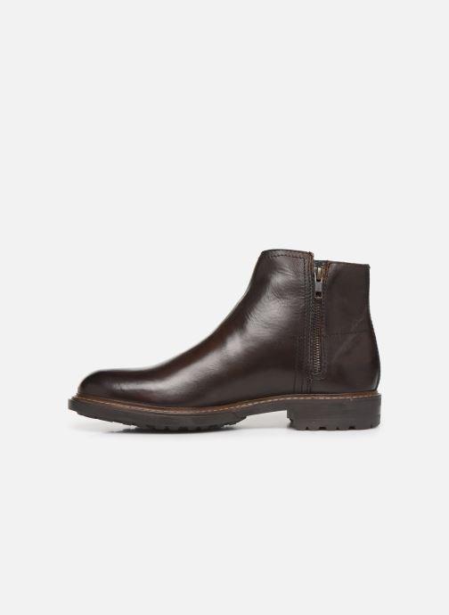 Boots en enkellaarsjes Base London CUSACK Bruin voorkant