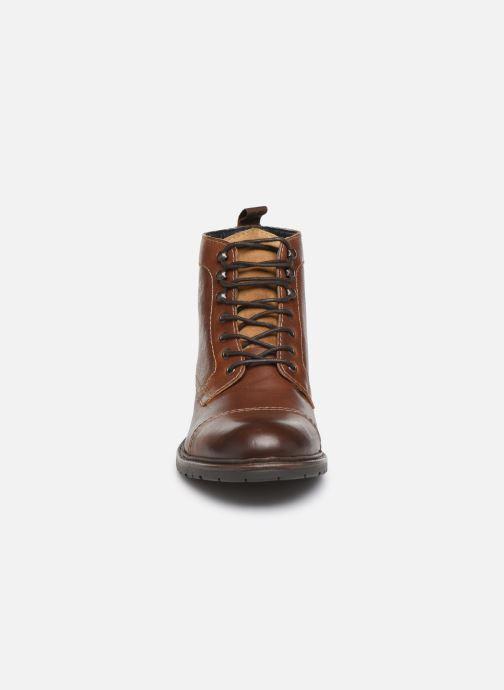 Boots en enkellaarsjes Base London RAVINE Bruin model