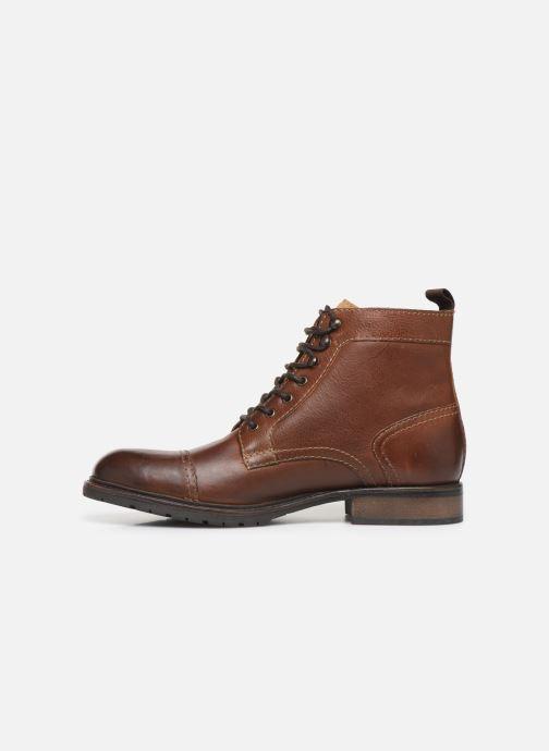 Bottines et boots Base London RAVINE Marron vue face