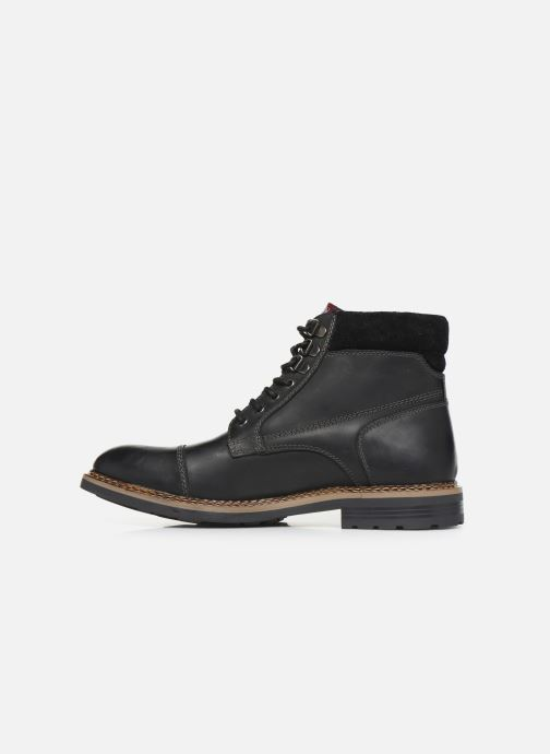 Ankle boots Base London WINSTON Black front view