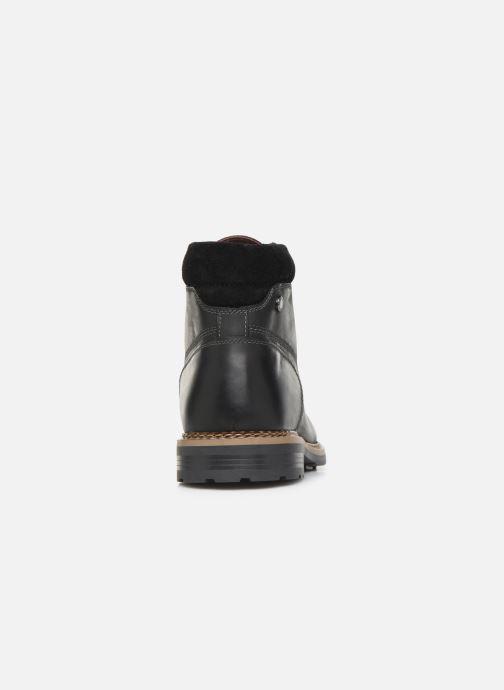 Bottines et boots Base London WINSTON Noir vue droite