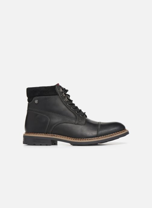 Boots en enkellaarsjes Base London WINSTON Zwart achterkant