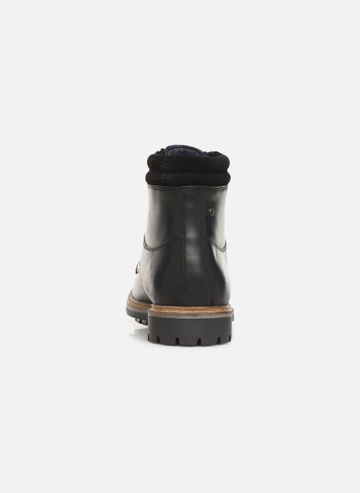 Bottines et boots Base London HIDE Noir vue droite