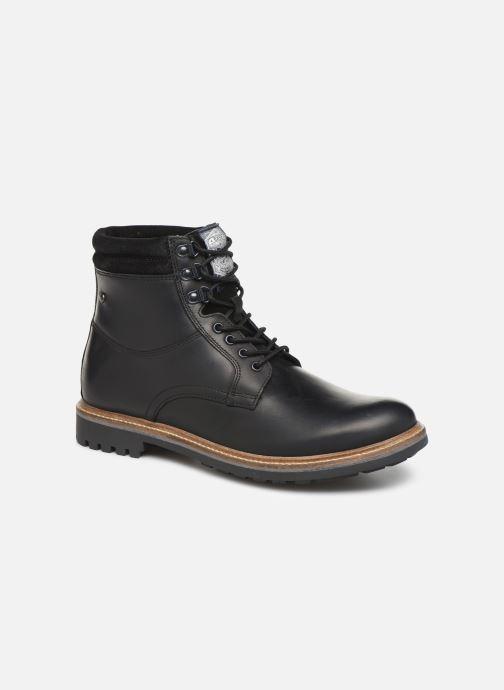 Bottines et boots Base London HIDE Noir vue détail/paire