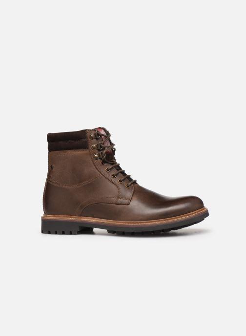 Bottines et boots Base London HIDE Marron vue derrière