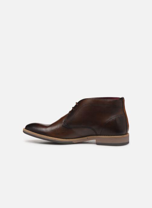 Boots en enkellaarsjes Base London NIXON Bruin voorkant