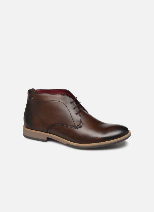Boots en enkellaarsjes Base London NIXON Bruin detail