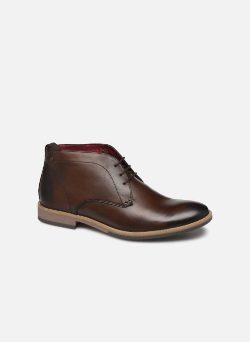 Ankle boots Base London NIXON Brown detailed view/ Pair view