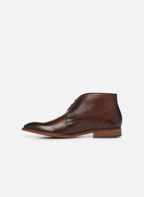 Ankle boots Base London CAMEO Brown front view