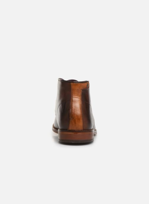 Ankle boots Base London CAMEO Brown view from the right