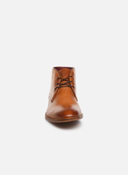Bottines et boots Base London CAMEO Marron vue portées chaussures