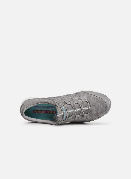 Baskets Skechers Gratis/Your Move Gris vue gauche