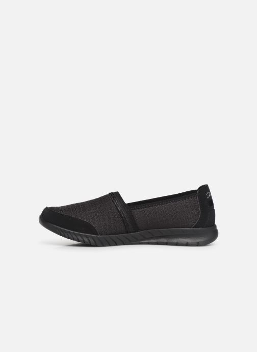 Pantoffels Skechers Wave-Lite/Bright Lane Zwart voorkant