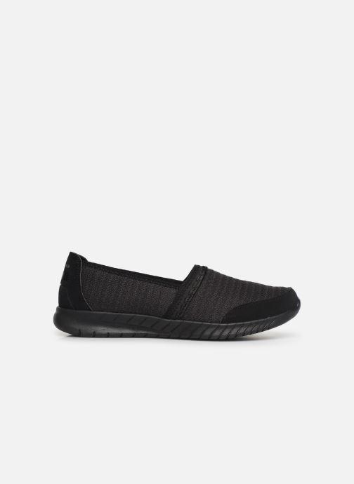 Pantoffels Skechers Wave-Lite/Bright Lane Zwart achterkant