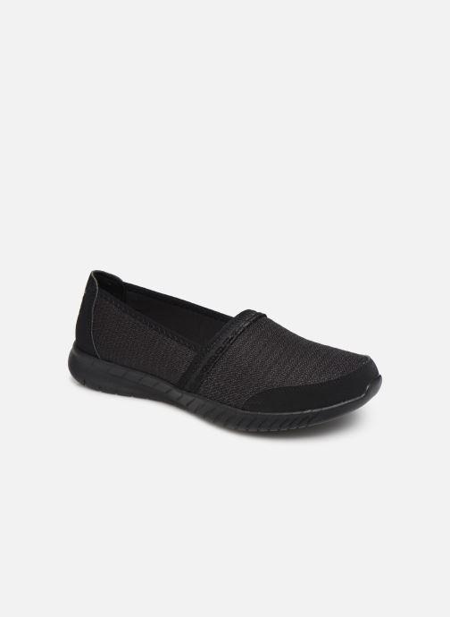 Slippers Skechers Wave-Lite/Bright Lane Black detailed view/ Pair view