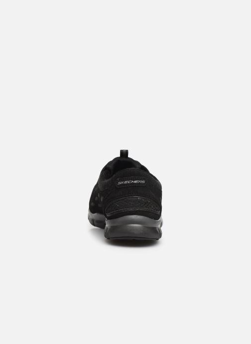 Baskets Skechers Gratis/Full-Circle Noir vue droite