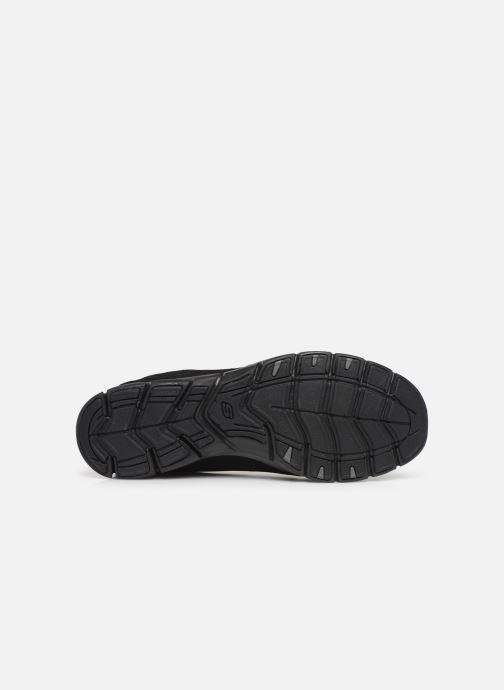 Baskets Skechers Gratis/Full-Circle Noir vue haut