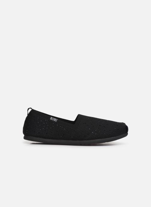 Chaussons Skechers Plush Lite/Instant Shine Noir vue derrière