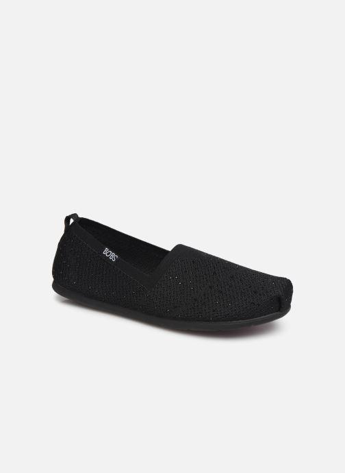 Chaussons Skechers Plush Lite/Instant Shine Noir vue détail/paire